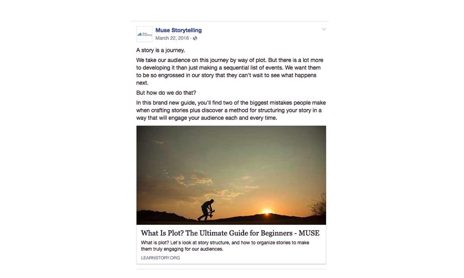 Social Medi Marketing Post Example