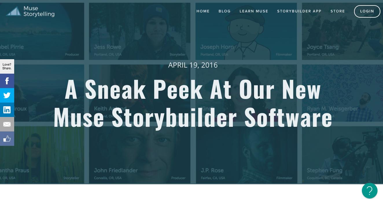 Muse Storybuilder